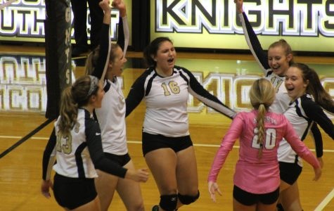 Freshman Aislyn Mayse gears up for Varsity Volleyball