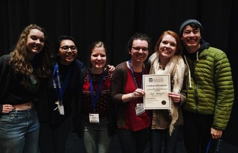 Southeast's drama tech teams takes first place in state challenge