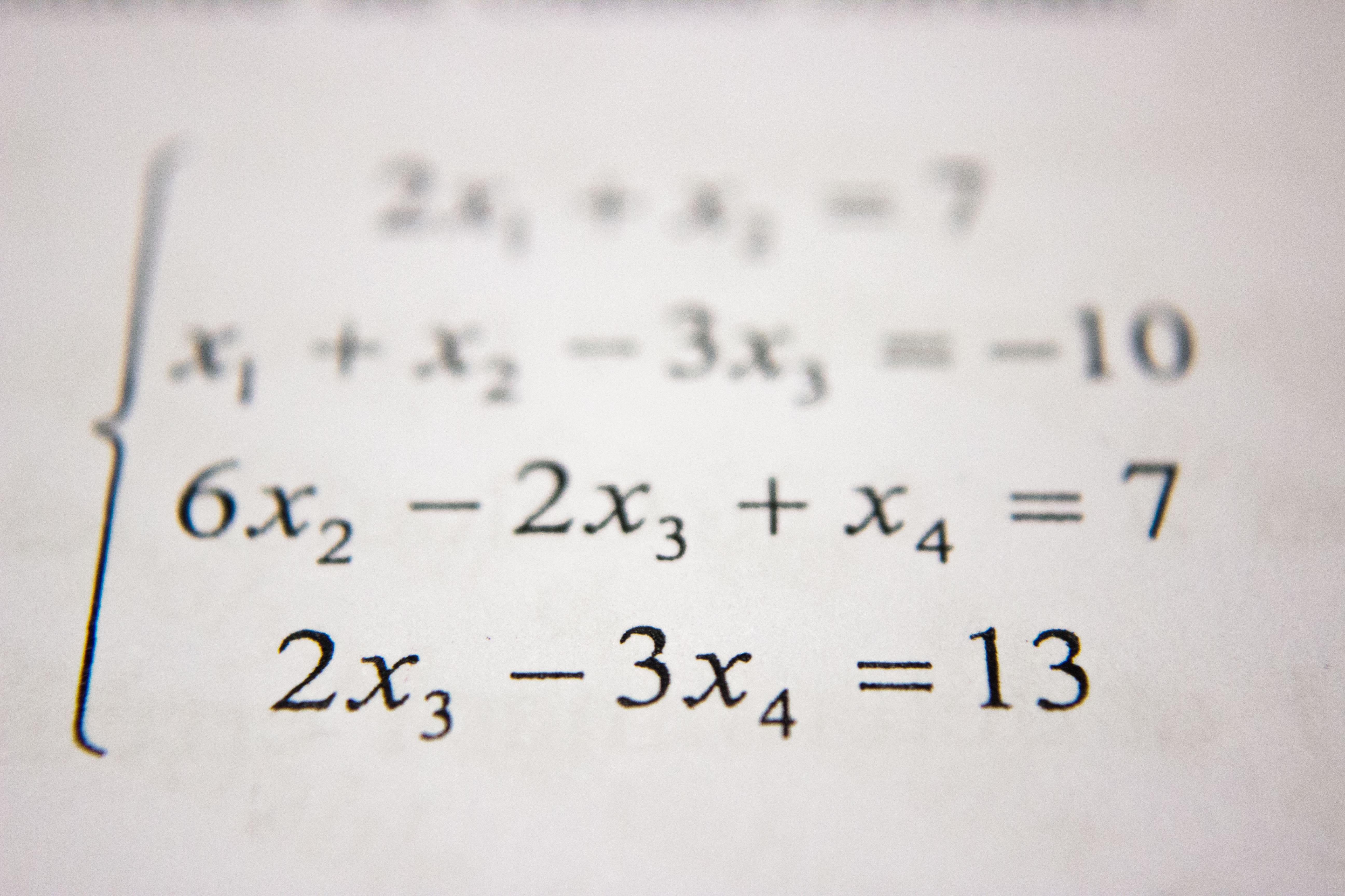 Dear Math Education: You've failed us