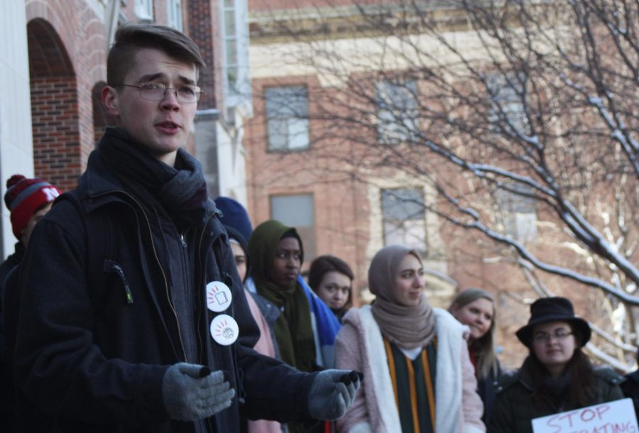UNL Students Rally Against Hate