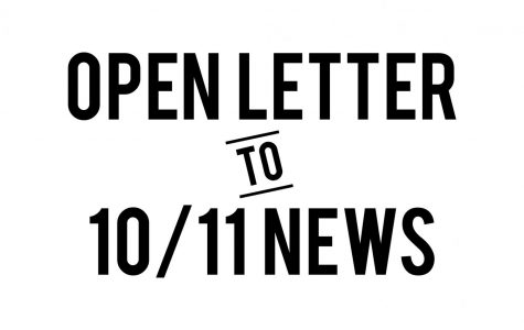 Open Letter to 10/11