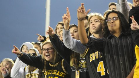Recognizing the rowdies: LSE student section is a part of the team