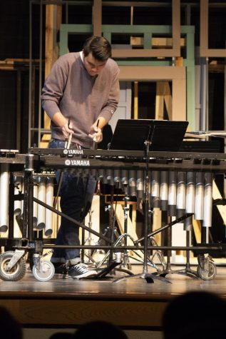 Percussion Ensemble to perform at NMEA Conference – The Clarion