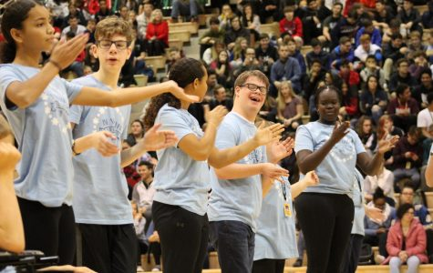 Step Chain's Unified Performance big hit at Winter Pep Rally