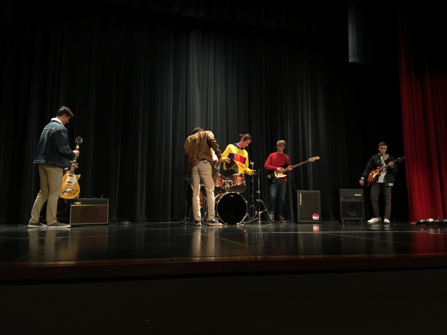 Parking Lot Party takes the stage at LHS for the annual Bands Against Bullying concert.