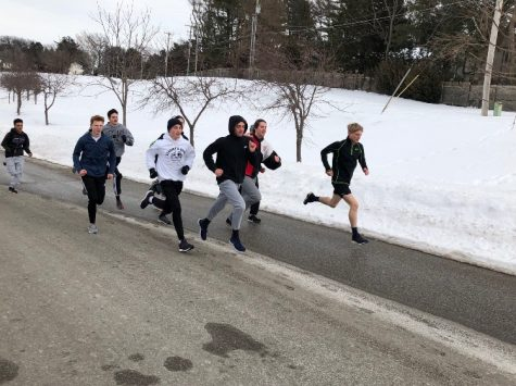 Spring sports season doesn't freeze for icy temperatures