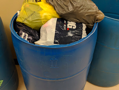 Over 800 socks donated during LSE's 3rd annual Sock Drive