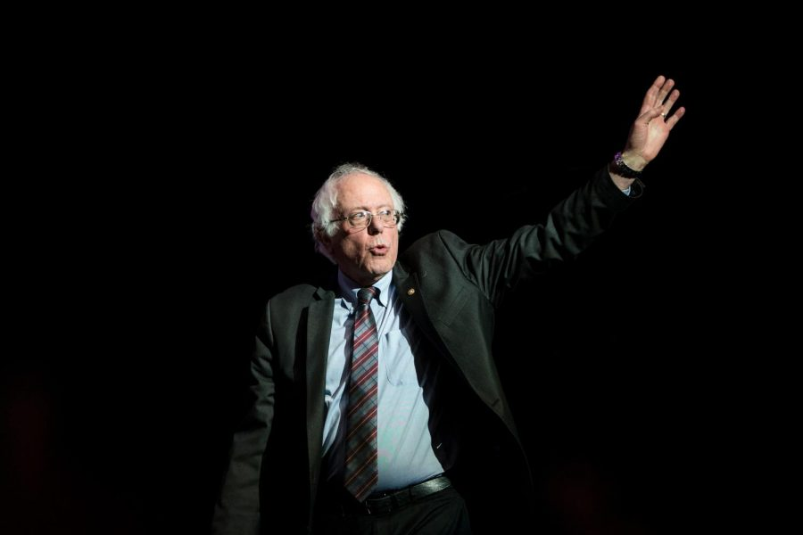 Sen.+Bernie+Sanders+waves+as+he+takes+the+stage+at+the+Our+Revolution+Massachusetts+Rally+in+Boston%2C+Mass.%2C+on+March+31%2C+2017.+Photo%3A+Scott+Eisen%2FGetty+Images