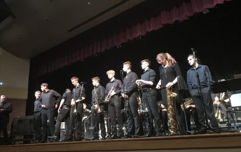Jazz Band concert ends the year with a strong performance