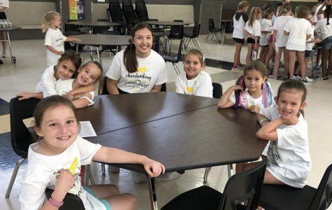 LSE Cheer leads aspiring cheerleaders to success during annual kiddie clinic