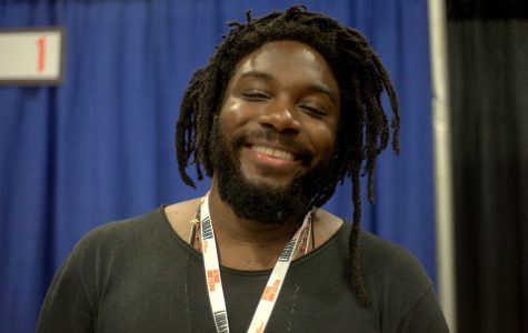 Author Jason Reynolds visits LSE and shares message: Madness made him magic