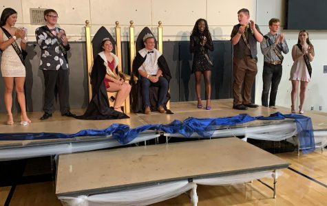 Homecoming royalty honored, humbled by being selected