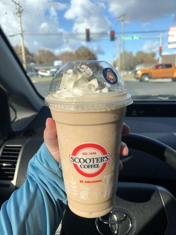 Sugar Cookie Latte blender