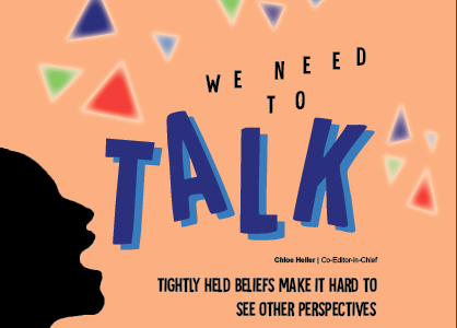 We need to talk: Tightly held beliefs make it hard to see other perspectives