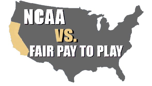NCAA vs. Fair Pay To Play: California leads initiative for college athletes to be paid