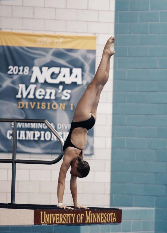 Maggie Hayes: Southeast sophomore submerged in her sport