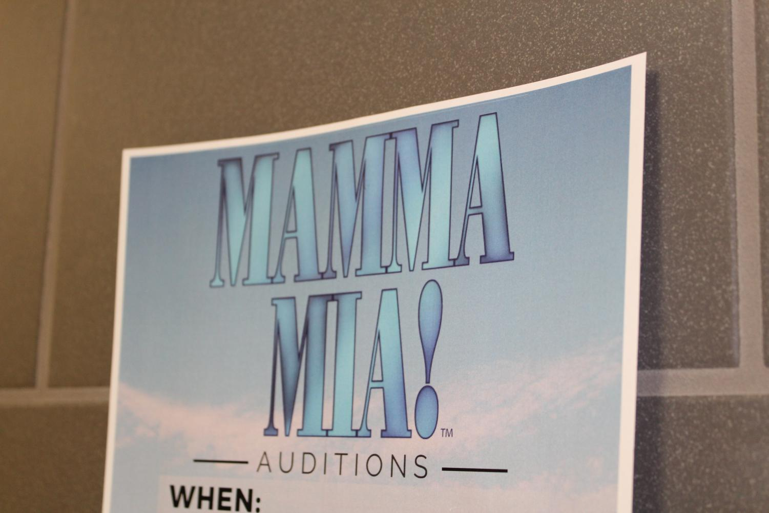 Mamma Mia posters can be seen all throughout Southeast, advertising the shows performances that start on April 30.