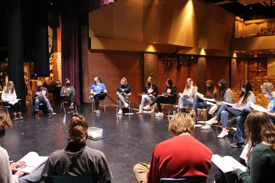 The+%22Little+Women%22+cast+begins+their+first+read+through+of+the+script.